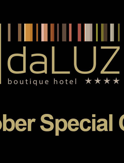 DALUZ Offer: From 25/10 to 28/10 on 4 days stay a day gift!